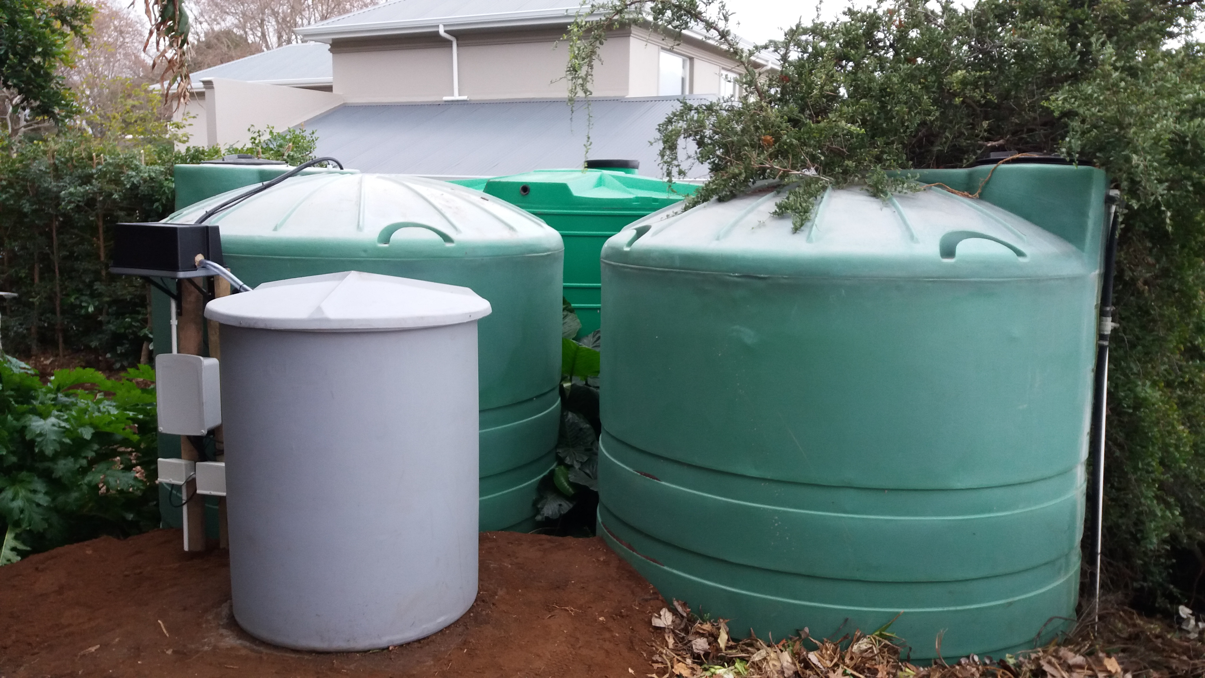 Greywater recycling system constantia