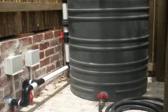Pool backwash tank Berram