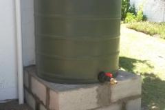 Pool backwash tank Kingfisher