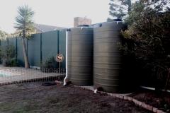 Water tanks -Bains